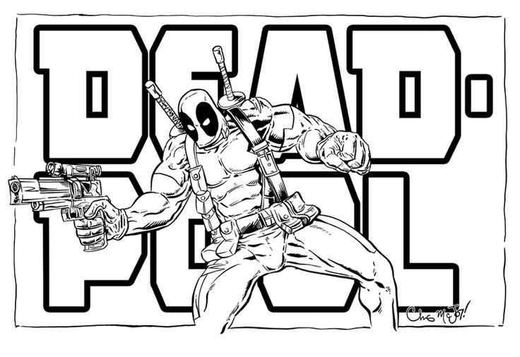 deadpool coloring pages 12printablecoloring pages