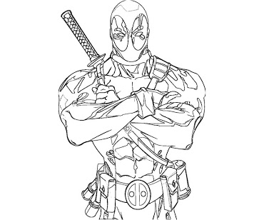 printable deadpool coloring pages,printable,coloring pages