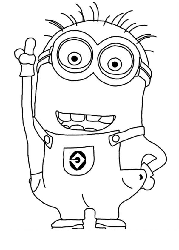 despicable-me coloring page,printable,coloring pages