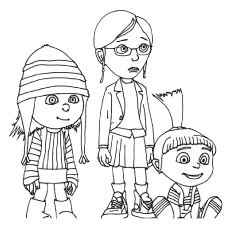 despicable-me coloring pages 11,printable,coloring pages