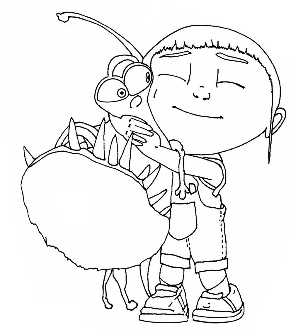 despicable-me coloring pages 12,printable,coloring pages