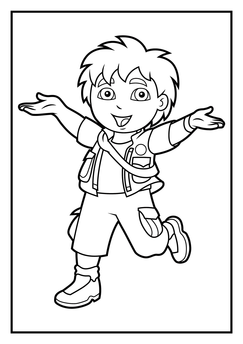 14 diego coloring page to print print color craft Coloring book to print