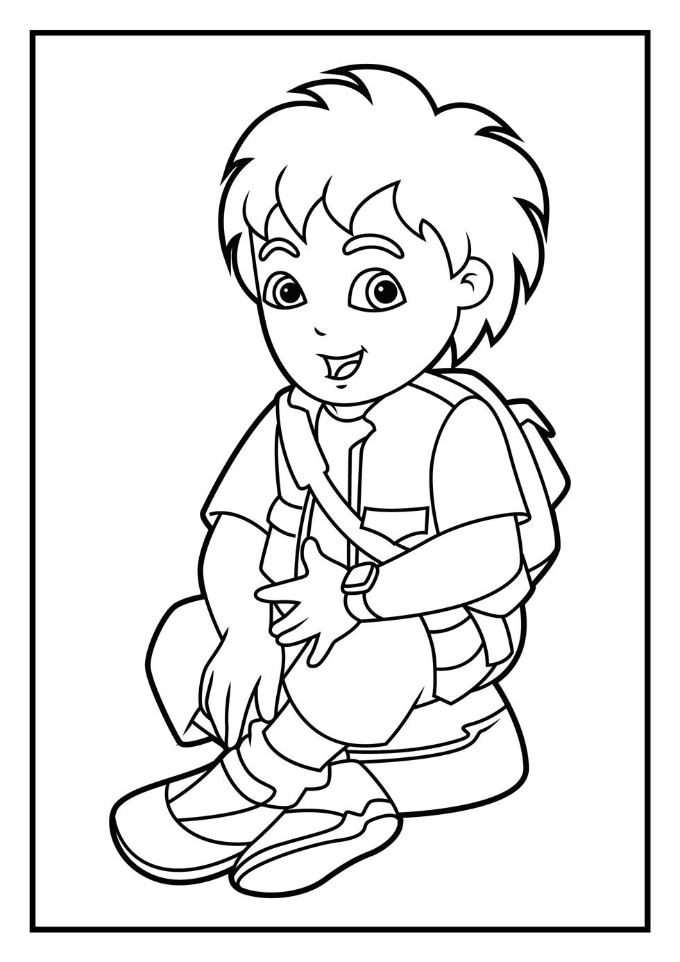 14 diego coloring page to print print color craft