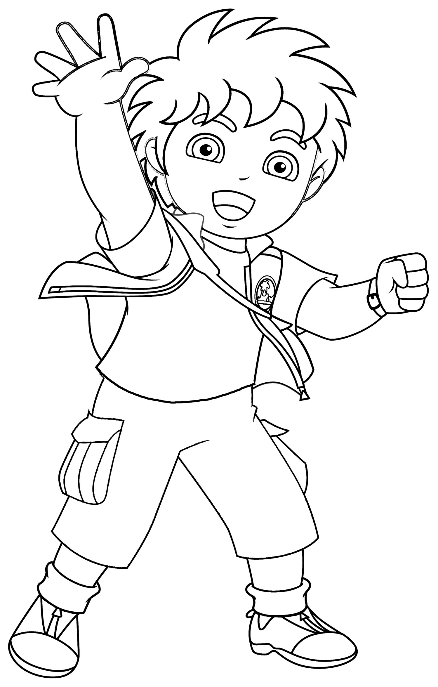 Dora And Friends Coloring Pages - Coloring Home | 2352x1500