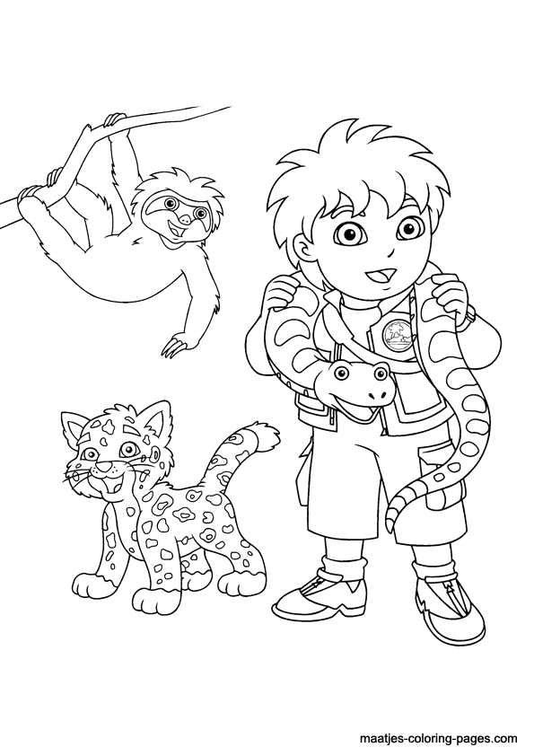 diego coloring pages 12,printable,coloring pages