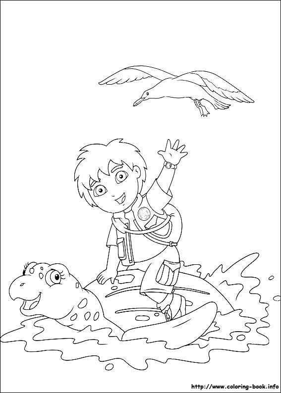 kids coloring pages diego,printable,coloring pages