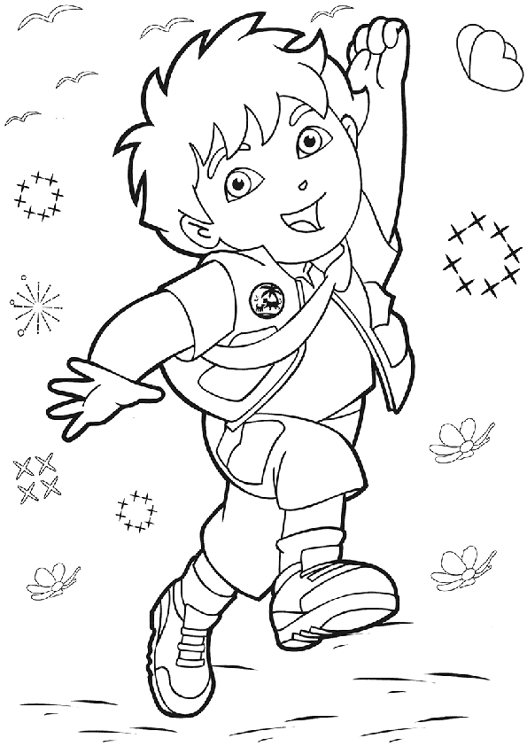printable diego coloring pages,printable,coloring pages