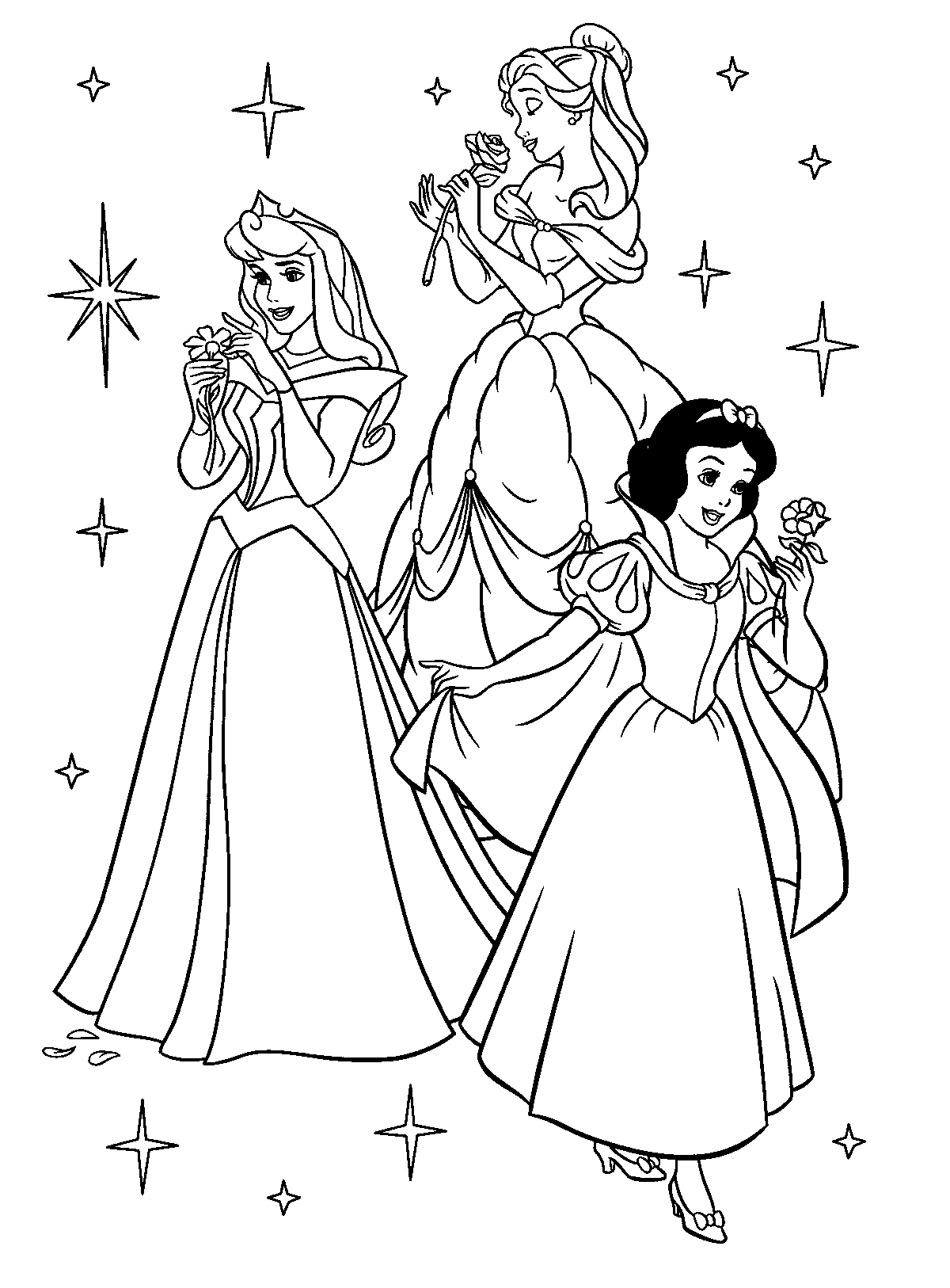 disney-princess coloring pages 11,printable,coloring pages