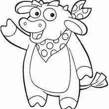 dora-the-explorer coloring pages 11,printable,coloring pages