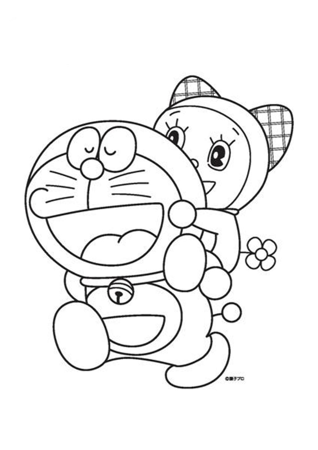 kids coloring pages doraemon,printable,coloring pages
