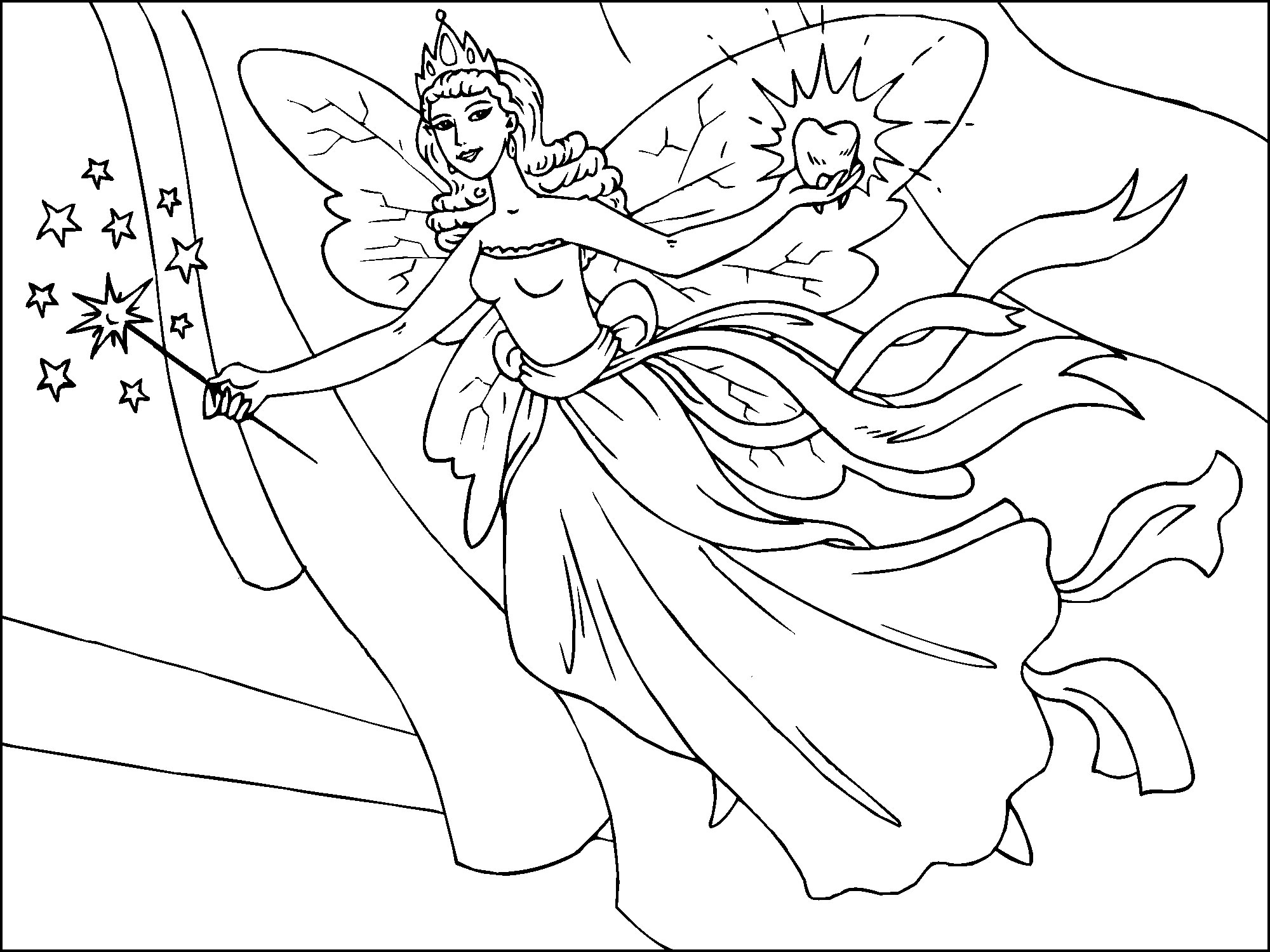printable pictures of fairy page,printable,coloring pages