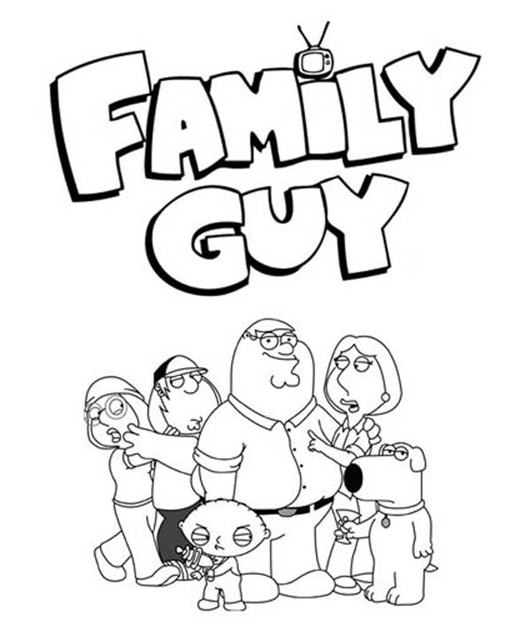 family-guy coloring pages 12,printable,coloring pages