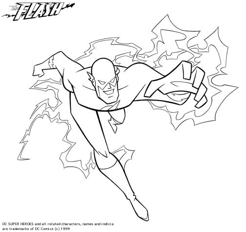 flash coloring pages 13,printable,coloring pages
