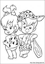 flintstones coloring pages 13,printable,coloring pages