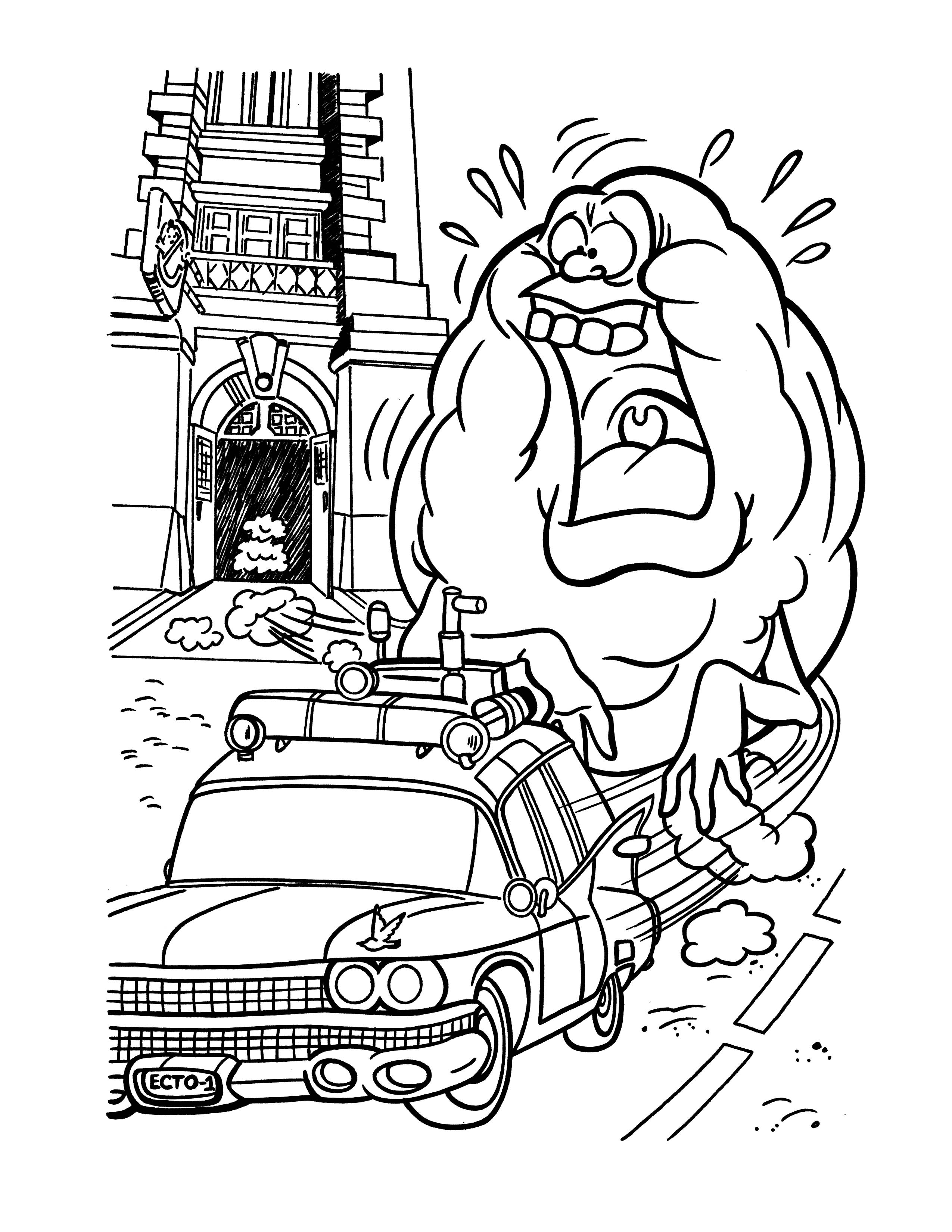 coloring pages of ghostbusters,printable,coloring pages