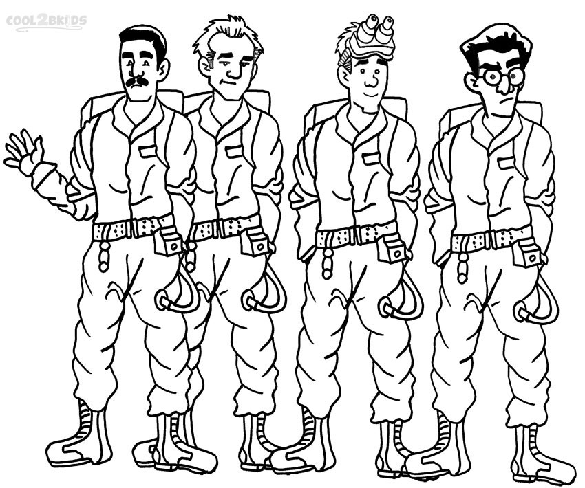 13 Printable Ghostbusters Coloring Pages Print Color Craft