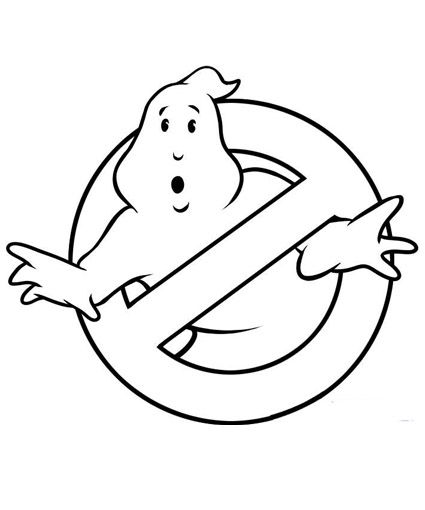ghostbusters coloring page,printable,coloring pages