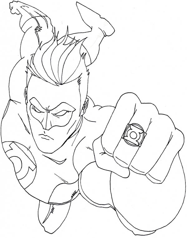 green-lantern coloring pages 13,printable,coloring pages