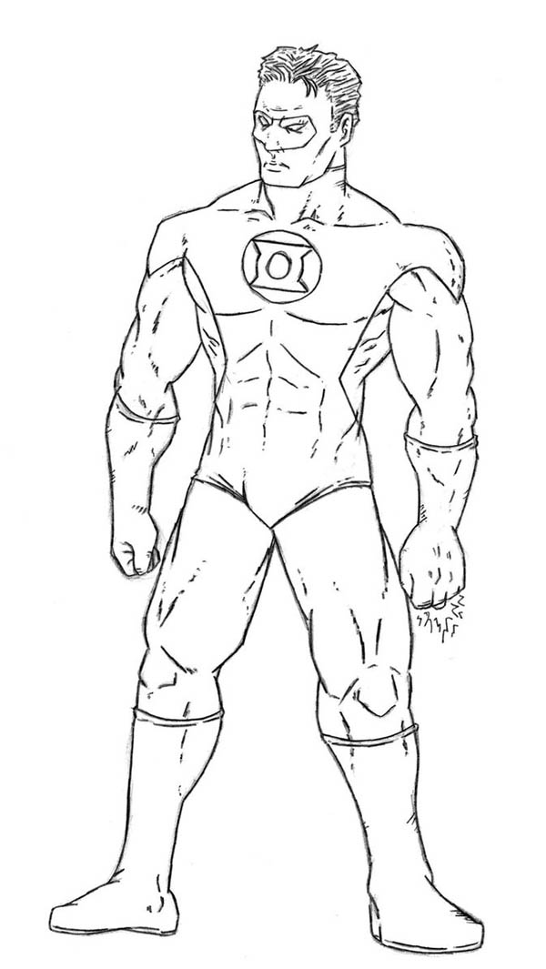 printable pictures of green-lantern page,printable,coloring pages