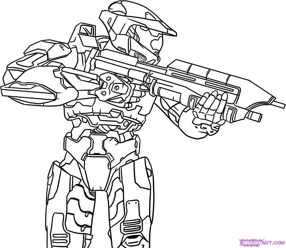halo coloring page to print,printable,coloring pages