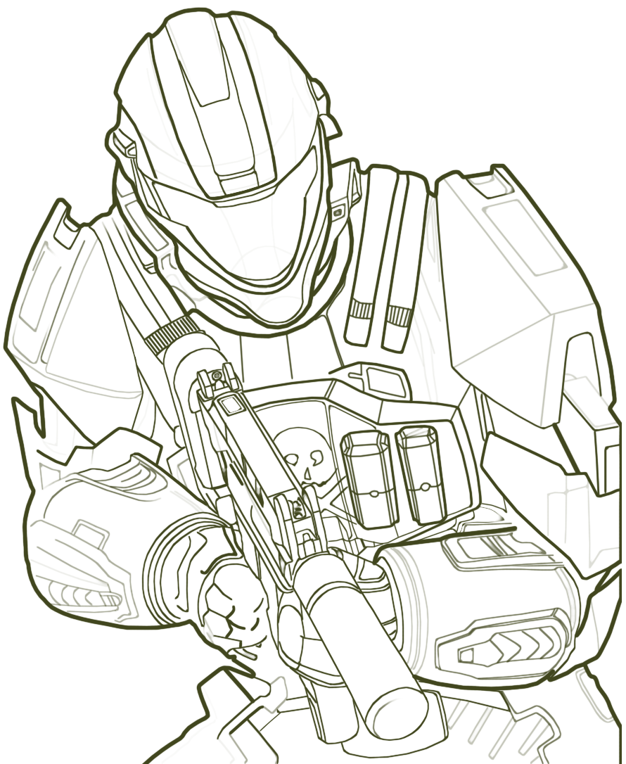 halo coloring pages for kids,printable,coloring pages