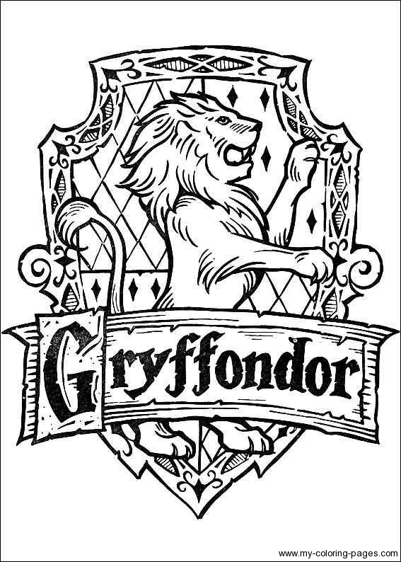 14 Harry Potter Coloring Page