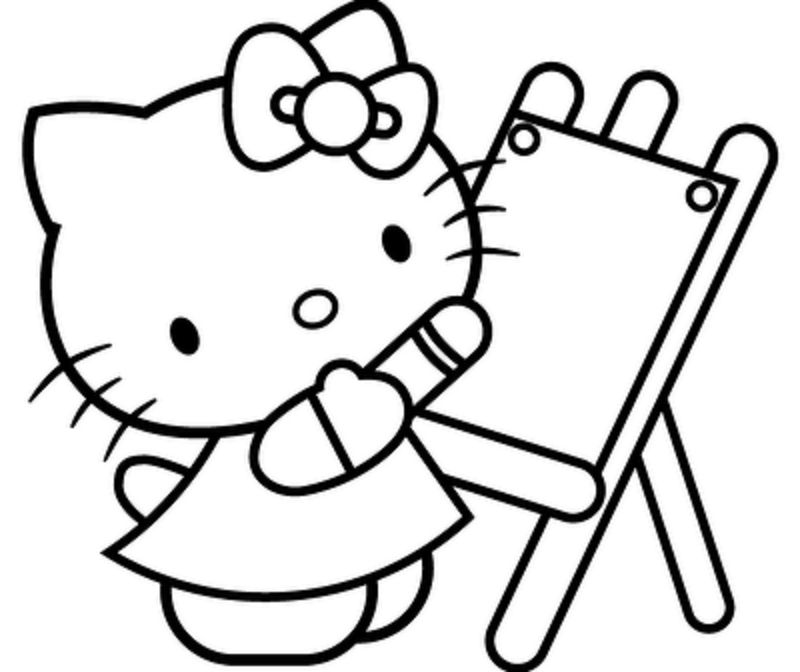 hello-kitty coloring pages 11,printable,coloring pages