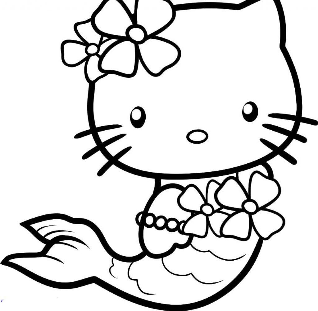 Japanese white cat 15 Printable hello kitty coloring pages ...