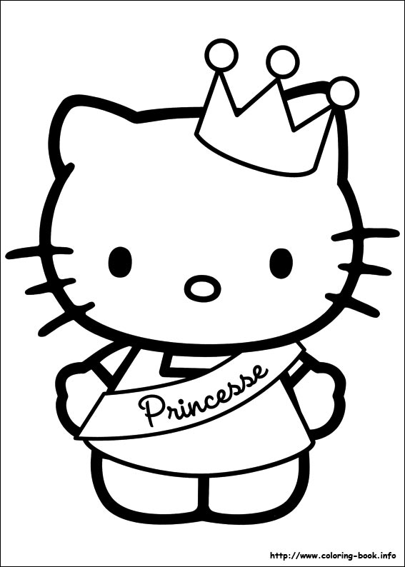kids coloring pages hello-kitty,printable,coloring pages
