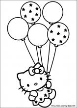Japanese white cat 15 Printable hello kitty coloring pages Print
