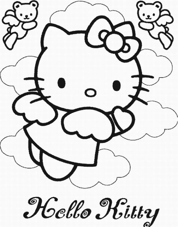 printable pictures of hello-kitty page,printable,coloring pages