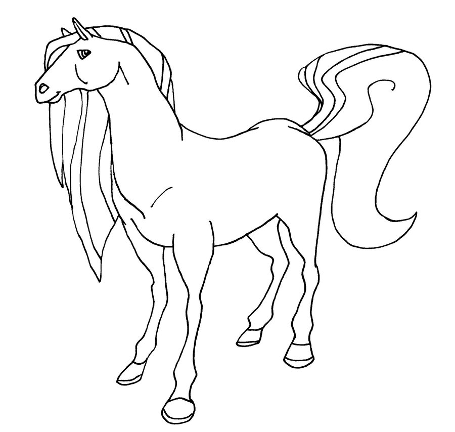 horseland coloring page,printable,coloring pages
