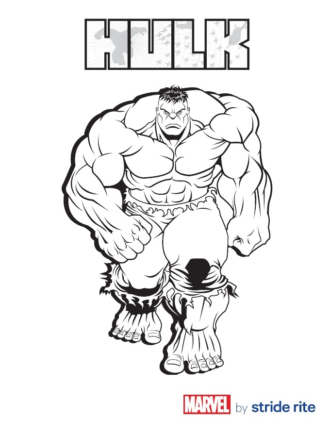 Printable Pictures Of Hulk Pageprintablecoloring Pages