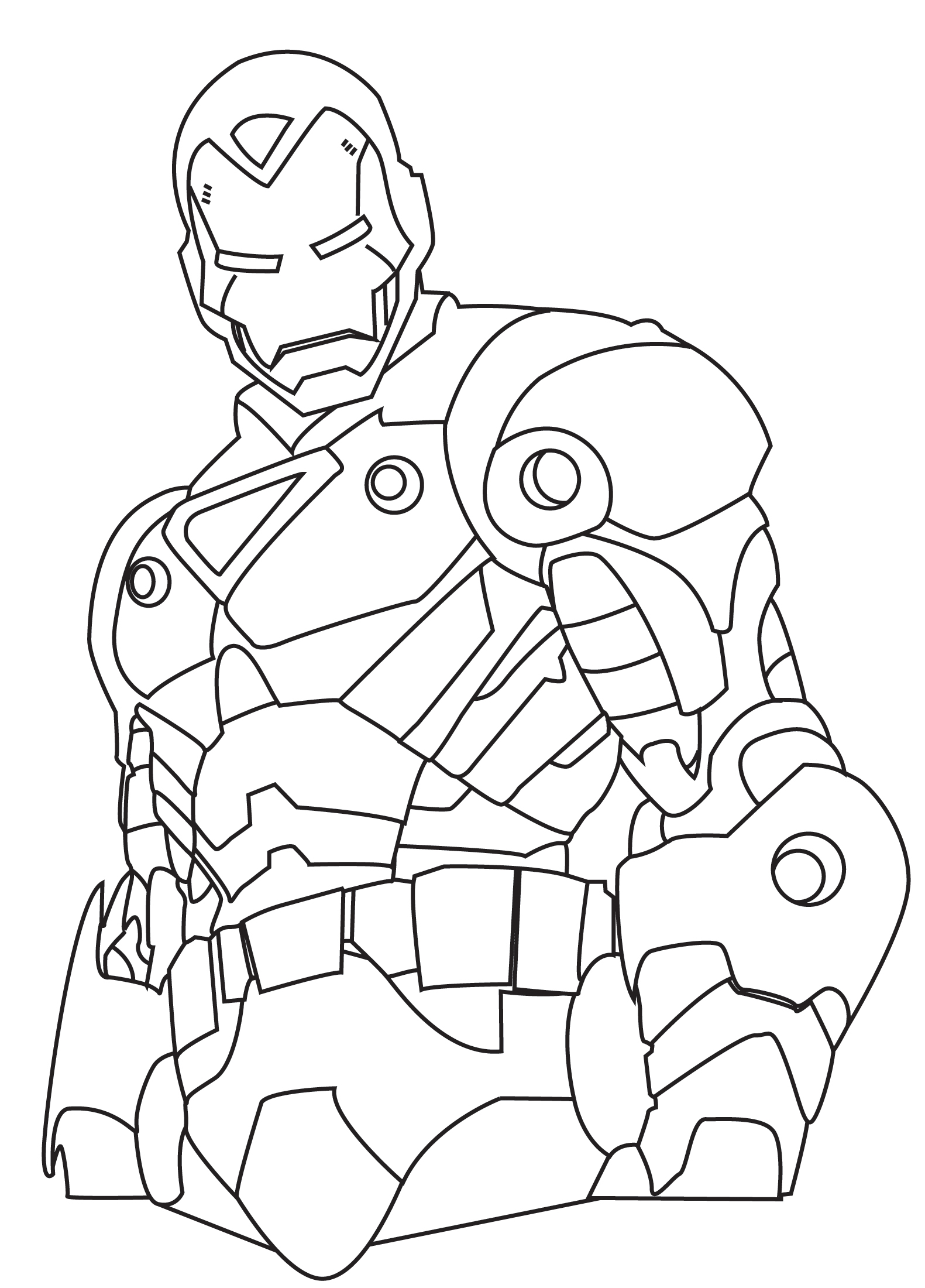 kids coloring pages iron-man,printable,coloring pages