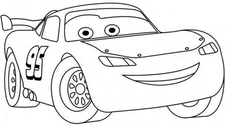 lightning-mcqueen coloring page,printable,coloring pages