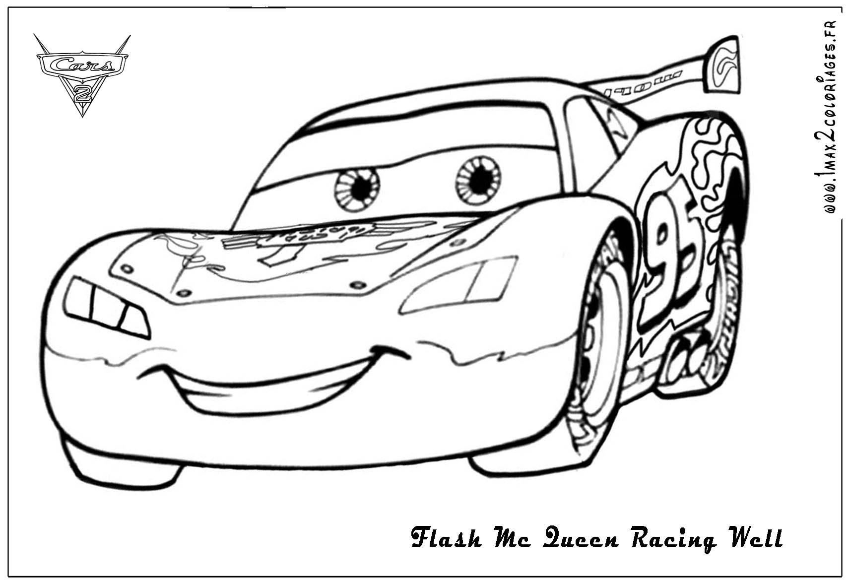 14 Coloring Pictures Lightning Mcqueen
