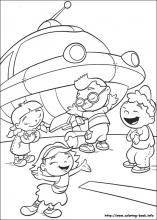 coloring pages of little-einsteins,printable,coloring pages