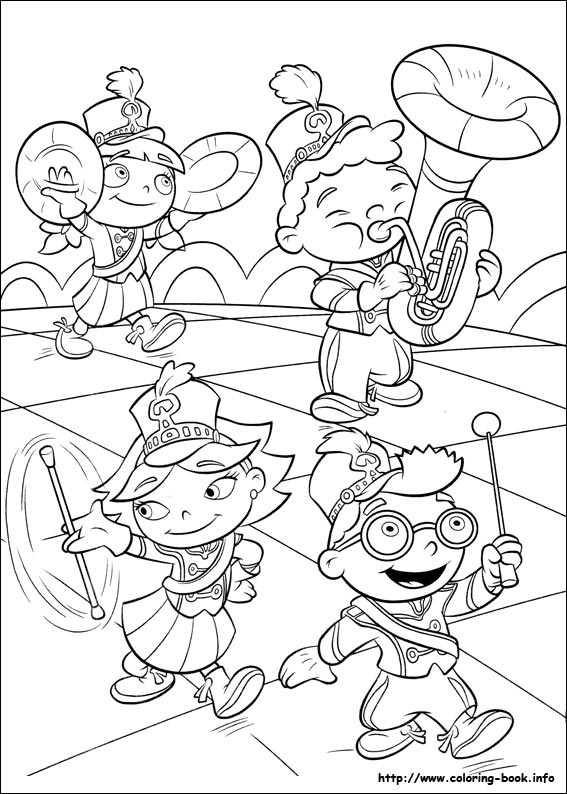 little-einsteins coloring page to print,printable,coloring pages