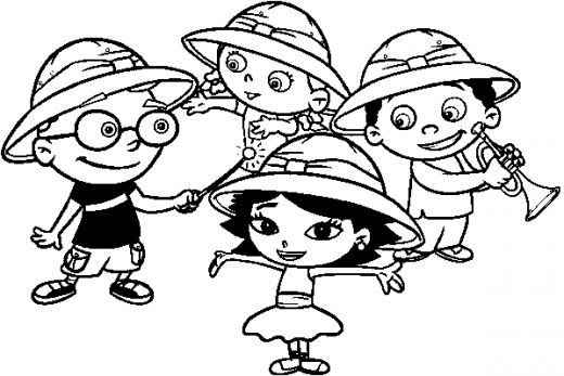 little-einsteins coloring pages 12,printable,coloring pages