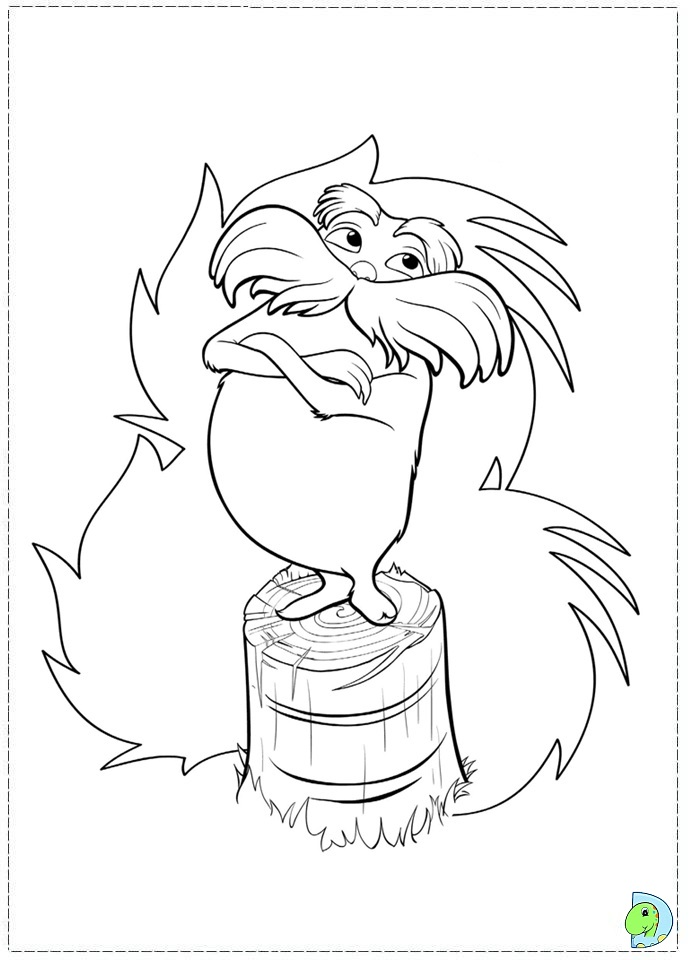 Charming Creature 16 Lorax coloring pages pictures - Print ...