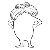 lorax coloring pages 13,printable,coloring pages
