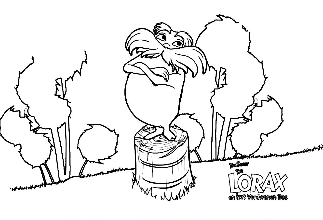 lorax coloring pages printable,printable,coloring pages