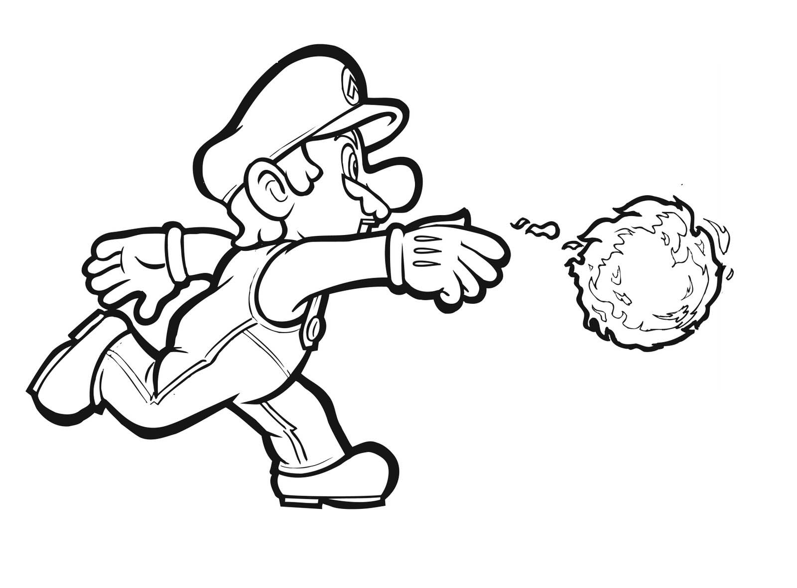 kids coloring pages mario,printable,coloring pages