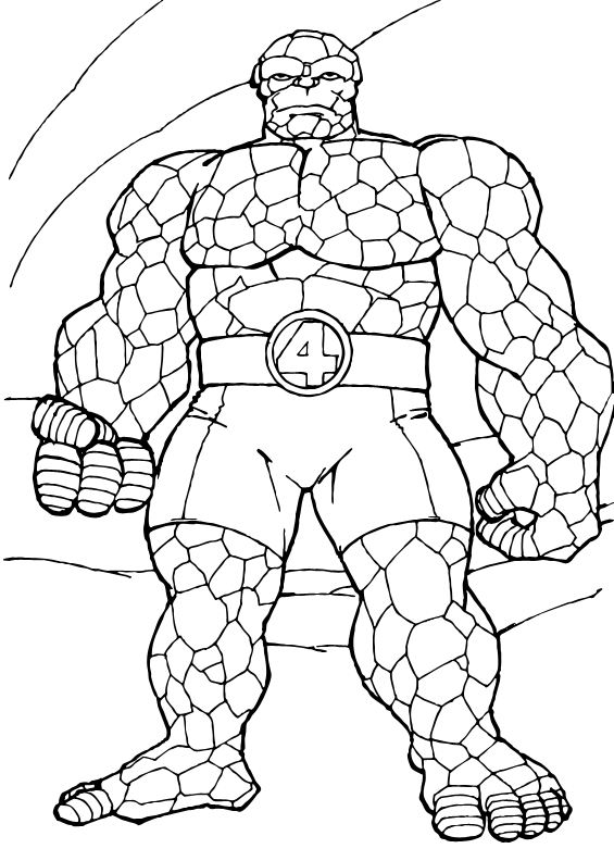Coloring Pages Marvel : Marvel coloring page print color craft