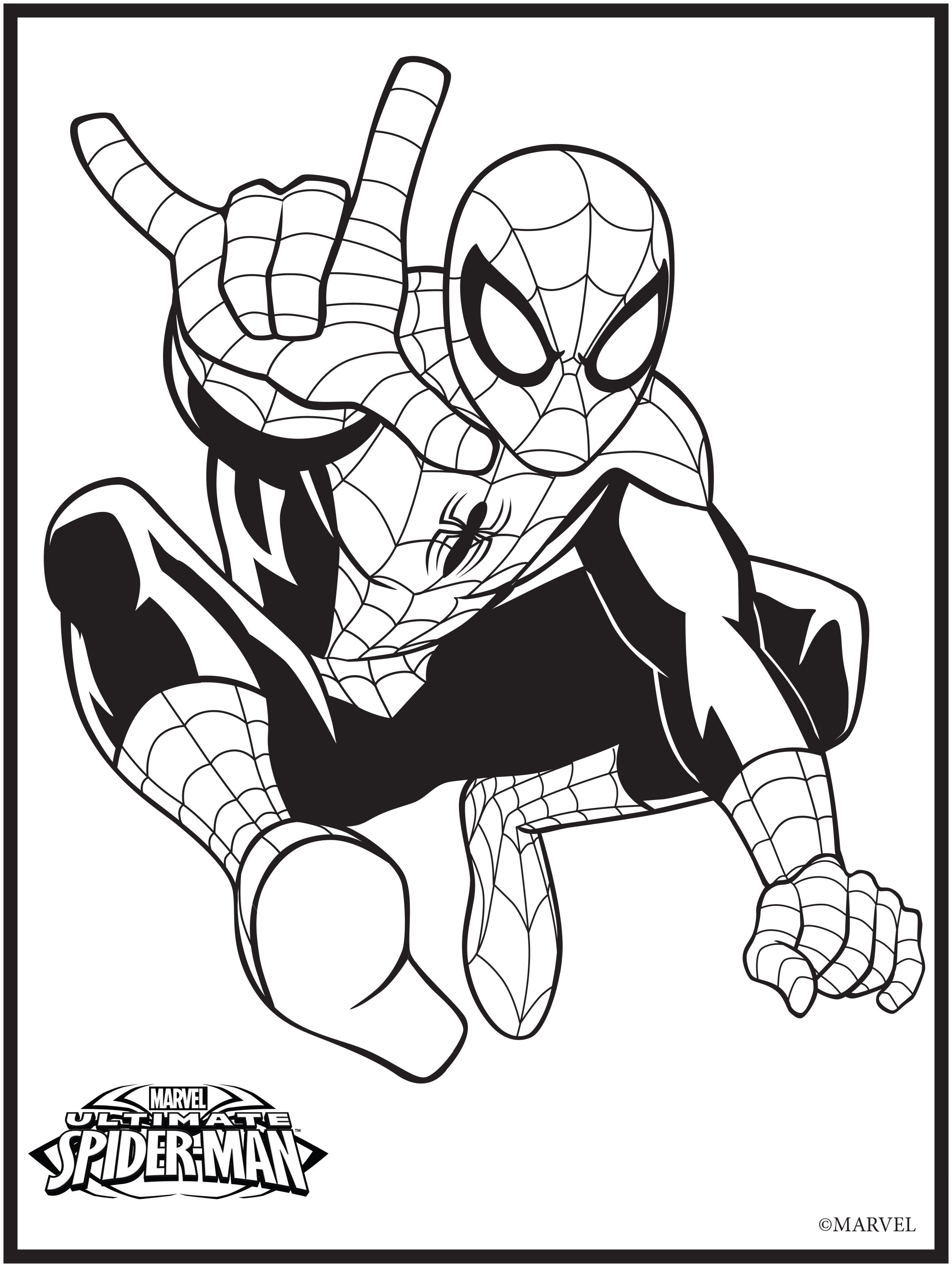 13 marvel coloring page - Print Color Craft
