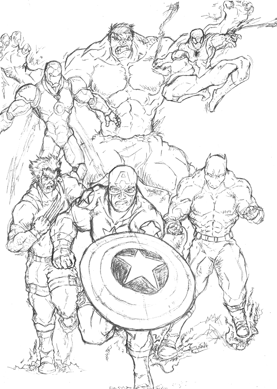 marvel coloring pages for kids,printable,coloring pages