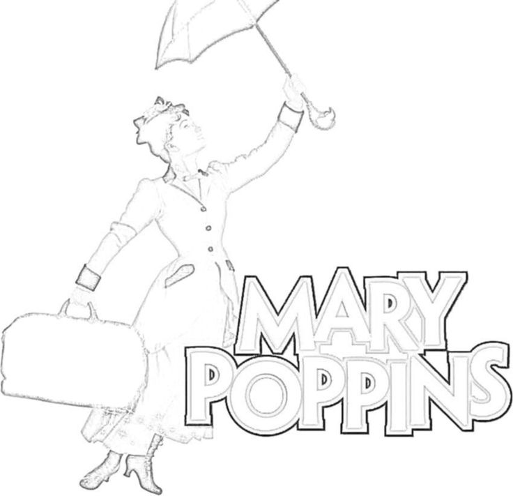 kids coloring pages mary-poppins,printable,coloring pages