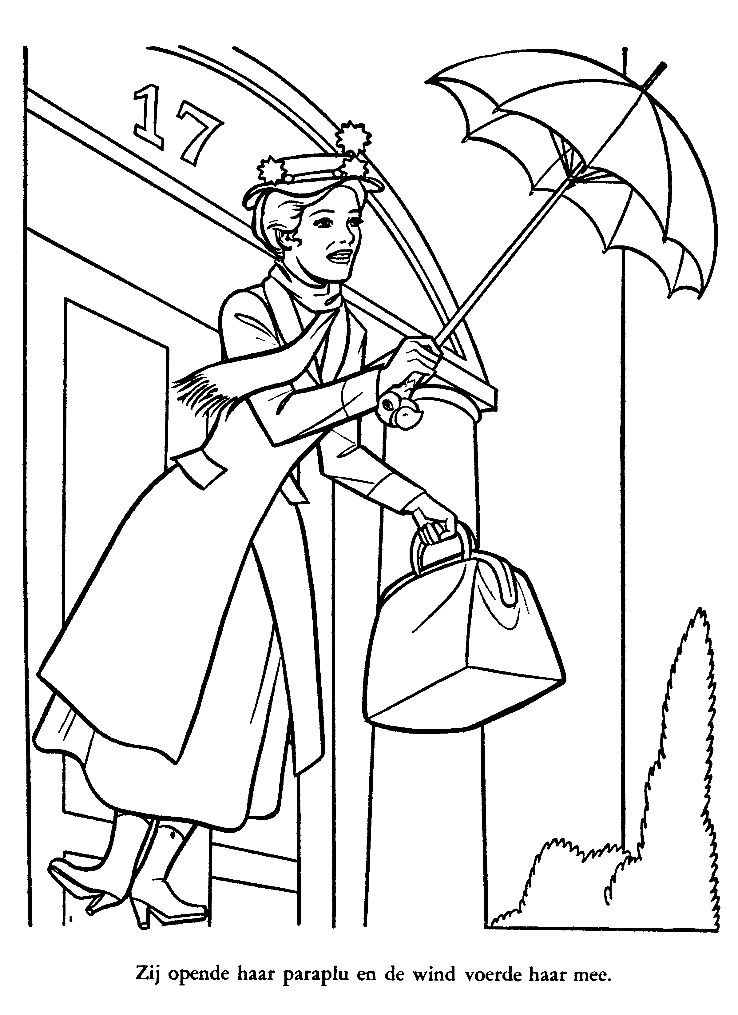 mary-poppins coloring pages 13,printable,coloring pages