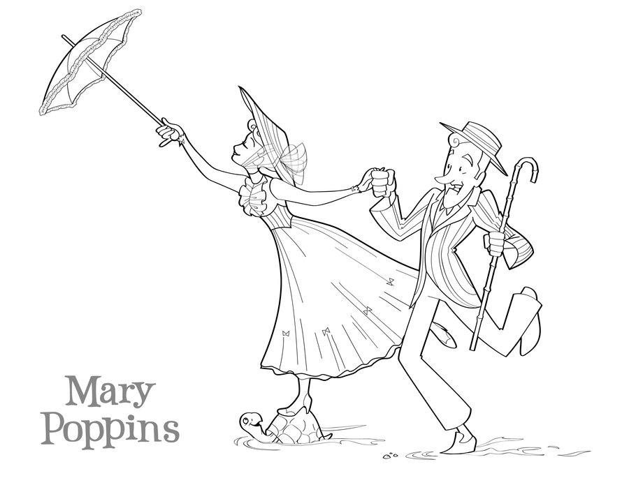 printable mary-poppins coloring pages,printable,coloring pages