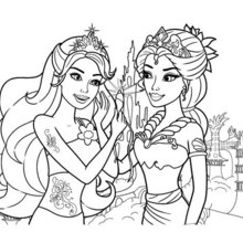 Mermaid Coloring Page To Printprintablecoloring Pages